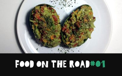 Food on the road: Aguacate relleno